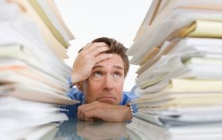 Stress in der Arbeit belastet die Gesundheit