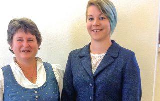 Gabriela Schrenk mit Tochter Christina